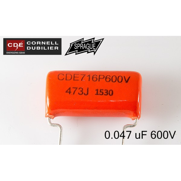 Orange Drop 716    0.047uf  600V