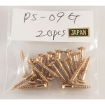 Pickup Ring Mouting Screw PS-09 Gold
